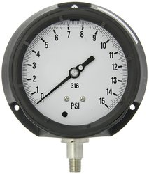 """4-1/2"""" Dial Sz Glycerin Filled Bottom Mount Pressure Gauge (4501-4LB-GF)"""