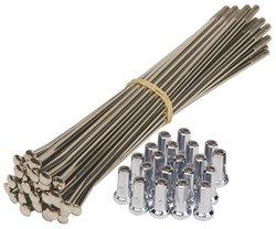 Buchanan's KKTM004SZ Stainless Steel Spoke Kit with Nipples