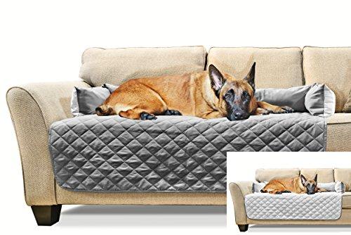 Awe Inspiring Furhaven Sofa Buddy Pet Bed Furniture Cover Gray Mist Machost Co Dining Chair Design Ideas Machostcouk