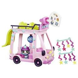 Hasbro Littlest Pet Shop Pets: City Double-decker Shuttle Bus