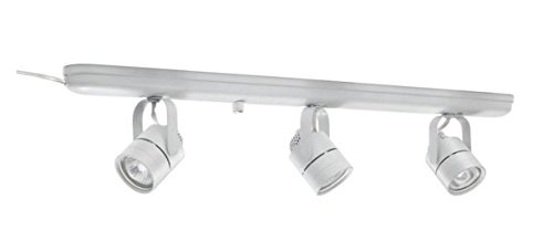 Hampton Bay Ep9090wh 3 Light White Plug In Track Lighting