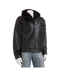 Men's Varsity Jacket With Genuine Leather Sleeves: Medium