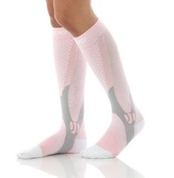 Mojo Recovery & Performance Compression Socks: Pink/large