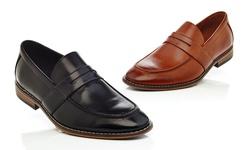 Gvx400 Slip On Loafer Shoes: Cognac-10