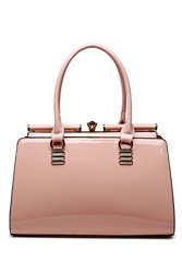 Woman's Celebrity Style Handbag By Mia K Farrow: Pink