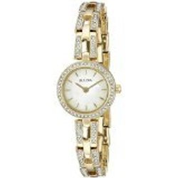 Women's Watch: Gold 2-tone/mother Of Pearl