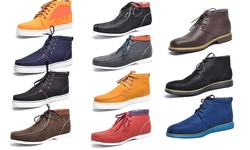 Men's Fashion Casual Ankle Boots: Allan Brown/10