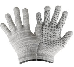 GliderGloves Glove Warm Touchscreen Texting Gloves for Phones - Light Grey