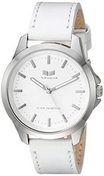 Vestal HER3L06 Heirloom Leather Watch - White/Silver/White