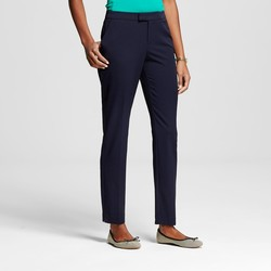 Merona Women's Bi-Stretch Twill Skinny Classic Pant - Federal Blue - 18L