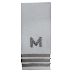 Threshold Modern Monogram Hand Towel - M