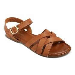 Cherokee Girls' Rose Slide Sandals - Brown - Size: 4