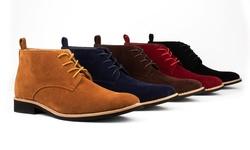 Royal Men's Desert Chukka Boots: Camel - 11
