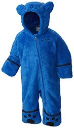 Columbia Baby Boys' Foxy Baby II Bunting, Super Blue/Collegiate Navy, 3-6 Months