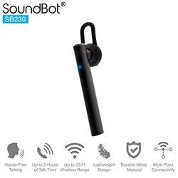 Black Mono Headphone