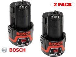 Bosch BAT412 12V Max 1.3Ah Li-Ion Battery - 2 Pack