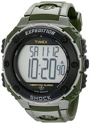 Timex Men's Green Expedition Shock XL Vibrating Alarm Watch T49951