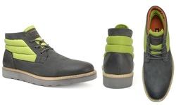 Hunter Men's Mid-ankle Boots: Slate/10