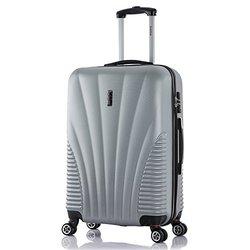 Inusa Chicago Hardside Spinner Luggage: 25'' Lightweight/silver
