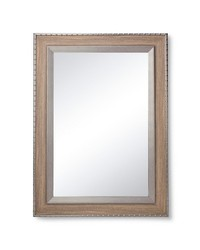 The Industrial Shop Rivet Rectangle Mirror - Washed Gray