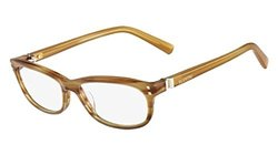 Valentino Optical Frames: Vl 2649 205 54mm-striped Brown Frame