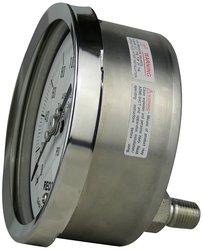 REOTEMP Heavy-Duty Repairable Pressure Gauge