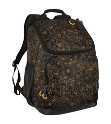 Embark Recycled Content Future Tech Backpack - Gold Floral - Size: 17.5""