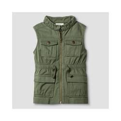 Oshkosh Girl's Fashion Vest - Green - Size: Medium