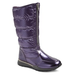 Girl's Buffy Tall Pack Winter Boots - Purple - Size: 3