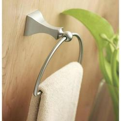 MOEN Retreat Towel Ring - Spot Resist Brushed Nickel