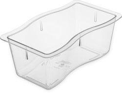 Carlisle 6984407 Modular Displayware Polycarbonate Half-Size Food Pan