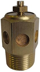 MettleAir BSC-N02 Pneumatic Speed Control Valve - Bronze - Pk of 10