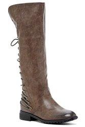 Bucco Marconi Knee-high Boots: Grey/6
