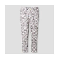 Oshkosh Toddler Girls' Animal Print Trouser - Cream - Size: 7
