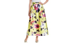 Beulah Women's Printed Skirt - Multi - Size: Small