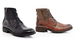BootsBoots Men's Side-Zip Boots - Black - Size: 10