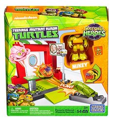 Mega Bloks Teenage Mutant Ninja Turtles Half-Shell Heroes Pizzeria Hideout