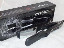 Croc Titanium Wet to Dry Black 1.5-inch Flat Iron