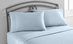 Wexley Home 1200TC Cotton-Rich Sheet Set (6-Piece): Ivory/Queen