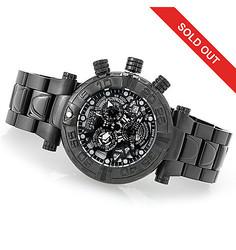 Invicta Reserve 47mm Subaqua Noma I Swiss Auto Ltd Ed Bracelet Watch W/ 3dc Black 47mm