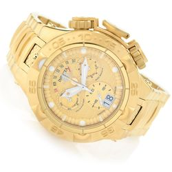 Invicta Men's Subaqua Noma V Swiss Automatic Chrono Bracelet Watch Goldtone Men's