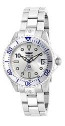 Invicta 47mm/38mm Grand Diver 10 Year Commemoriative Ed Auto Bclt Watch W/8dc Silvertone 38mm
