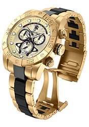 Invicta Reserve Men's Nekton Ii Sea Base Ed Quartz Chrono Bracelet Watch Goldtone Men's