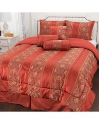 "North Shore Linens ""francesca"" 7-piece Comforter Set Multi Queen"