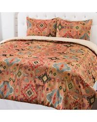 "North Shore Linens ""aztec"" Woven 3 Piece Comforter Set Multi King"
