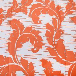 """Cozelle Microfiber """"spencer"""" Printed 5 Piece Comforter Set Orange Full/queen"""