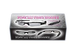 Zupa 007 Video Shadez Digital Photo and Video Spy Sunglasses