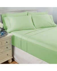 North Shore Living 950tc 100% Egyptian Cotton Suresoft 6 Piece Sheet Set Sage King