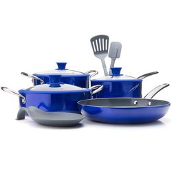 Te St 10pc Cookware Set Blue No Size