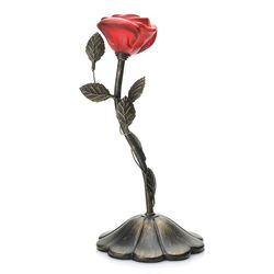 Style At Home With Margie Love Flower Accent Lamp Red No Size